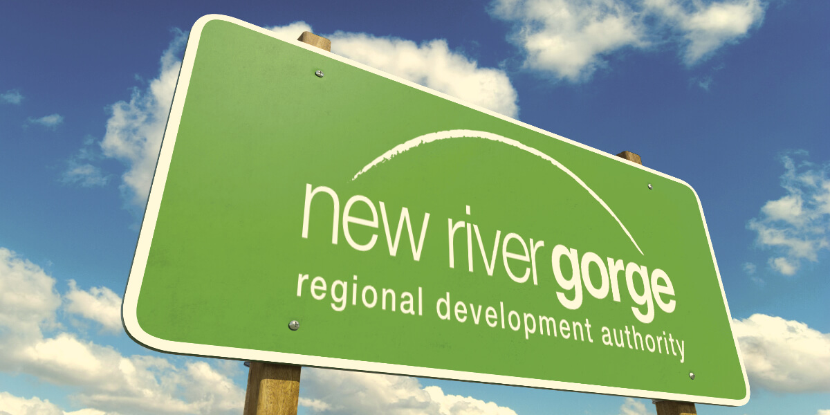 Photo of NRGRDA Street Sign